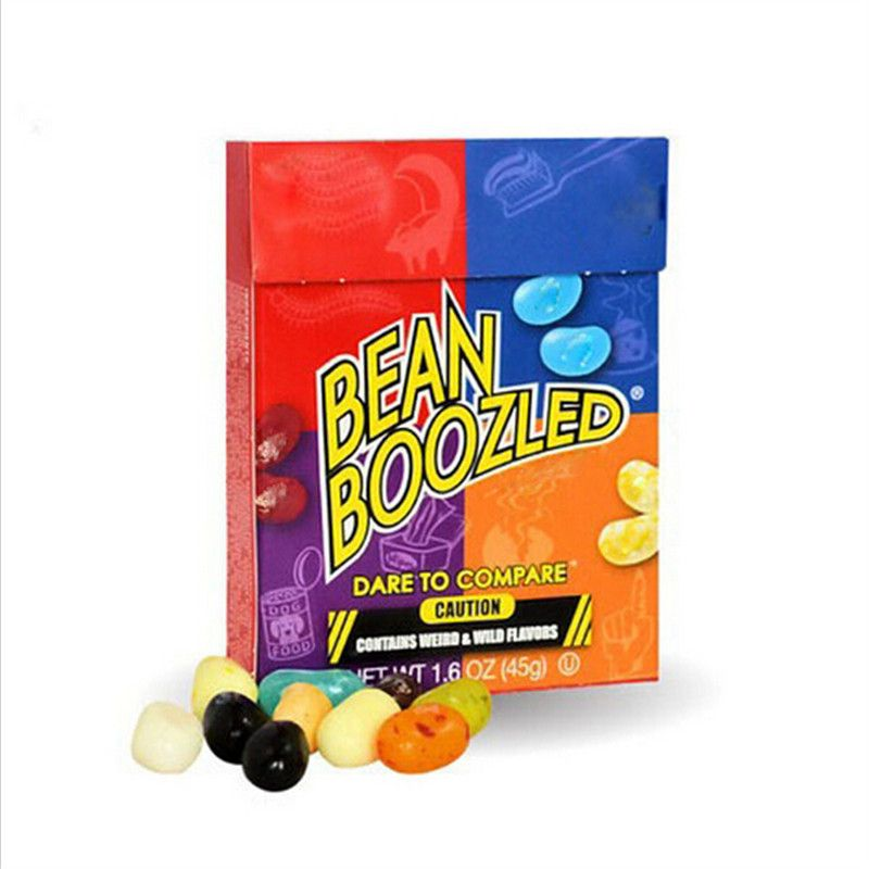 10 Box Bean Boozled Beans Crazy Sugar Adventure Tricky Game Funny Sugar