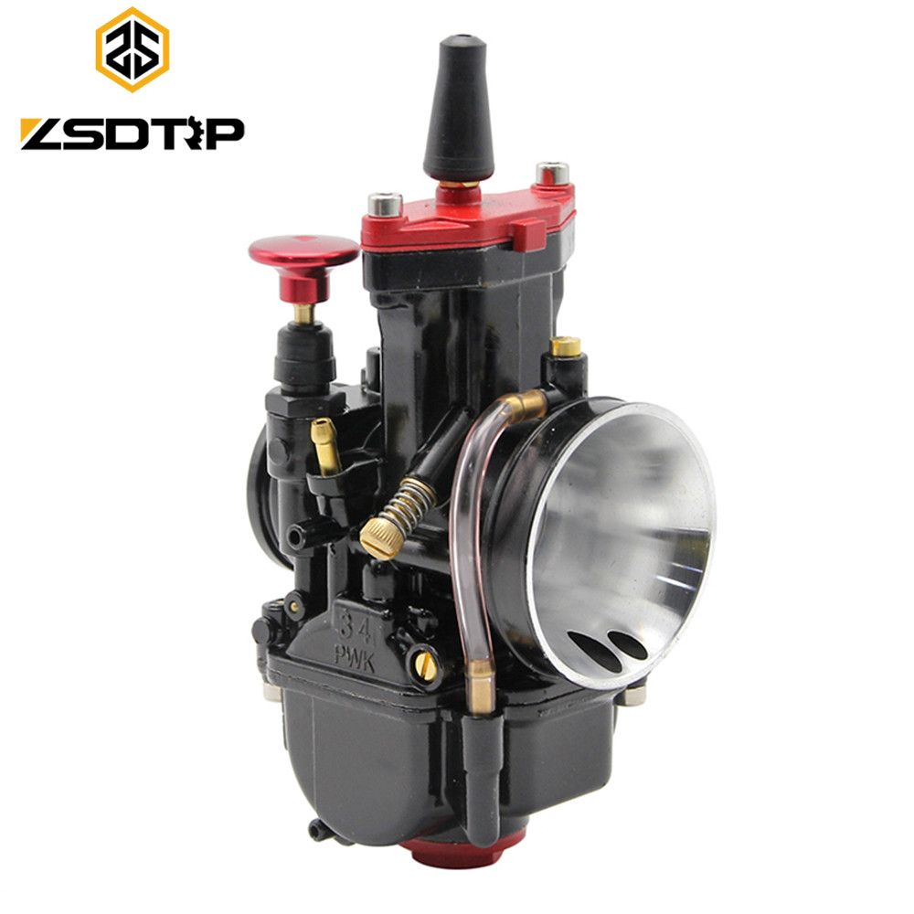 ZSDTRP 4 size 28 30 32 34 mm universal Mikuni carburetor parts Scooters with power jet motorcycle ATV Free shipping