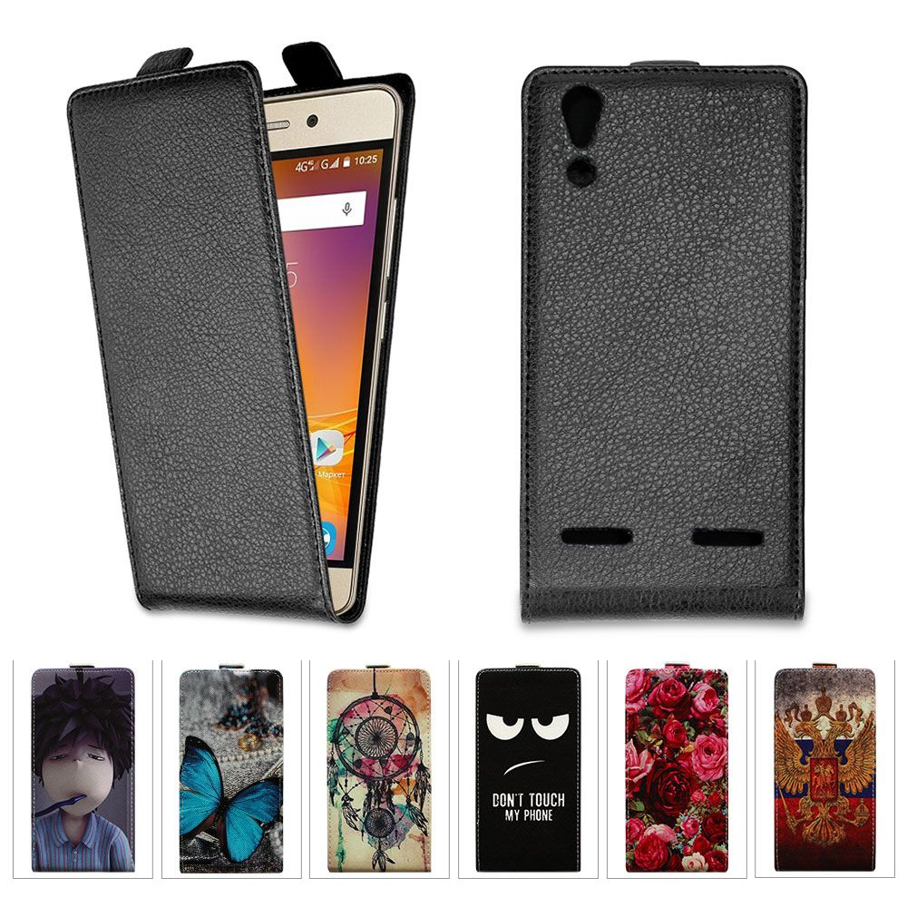 Luxury Lichee Pattern Flip Leather Case Cover For Lenovo a6010 Plus & a6000 & For Lenovo Lemon k3 k30-t Cover k 3 a 6000 6010