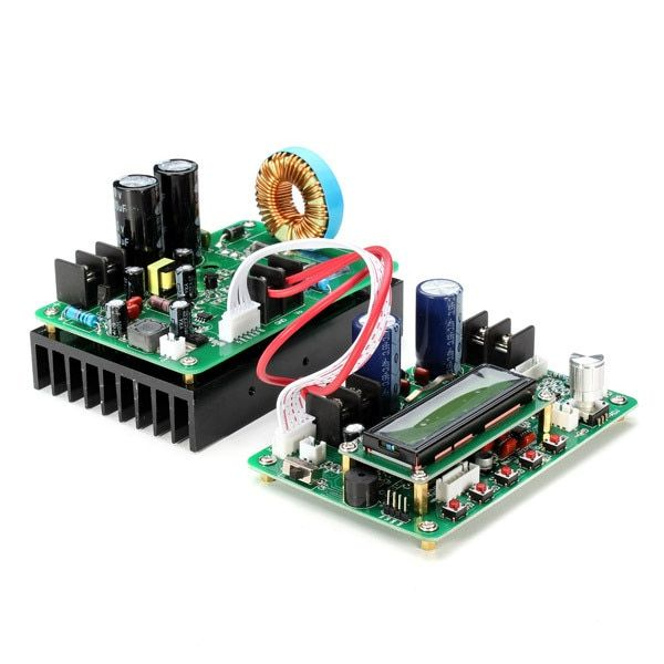 New ZXY6020S NC DC-DC Power Supply Module Programmable+1xcontrol module+1 x 6P cable+2xlarge current connect line 60V 20A 1200W