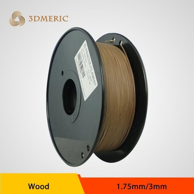 DIY design -2016 bestselling PLA ( in wood color) 3D printing filament with cheaper price for industrial / desk printer