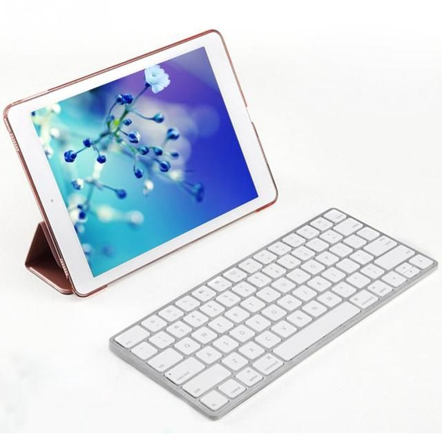 2017 Wireless Keyboard Bluetooth 3.0 Ultra slim Water-proof  Keyboard For iPad  For Mac Book  For Smart Phones Black/White