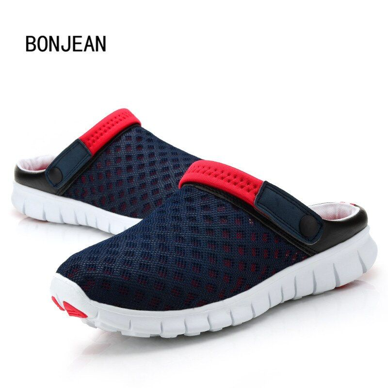 Men Shoes Summer Men Slippers Fashion Beach Breathable Sandals Hollow out Sandals Zapatos Sandalias Femininas Plus Size 39-44