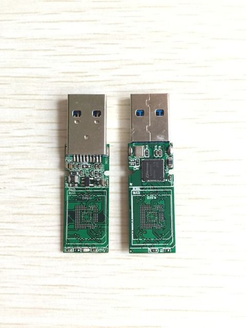 USB3.0 eMMC 153 169 U disk PCB NS1081 main controller without flash memory for recycle emmc emcp chips