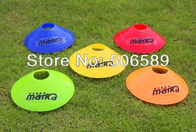 football training obstacles 20 pcs/lot PE material 6*20cm