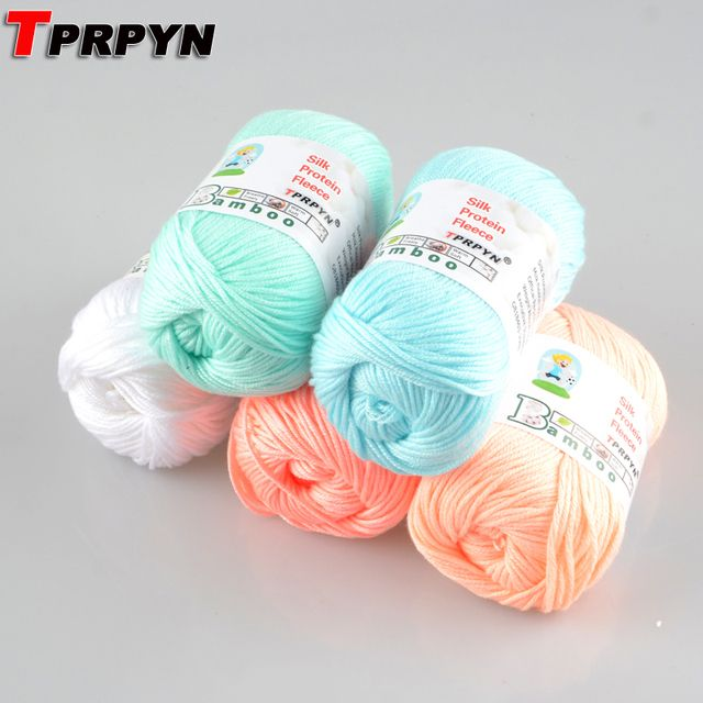 TPRPYN 1Pc=50g Blended Wool Yarn for Knitting Doll Sweater Beautiful Nami Yarn