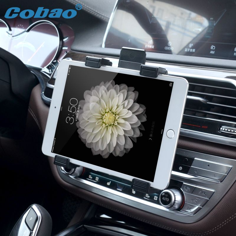 Universal 7 8 9 10 11 Tablet Car Air vent Holder Mount Stand Vent Holder For iPad 2 3 Air Tablet PC Soporte Tablet