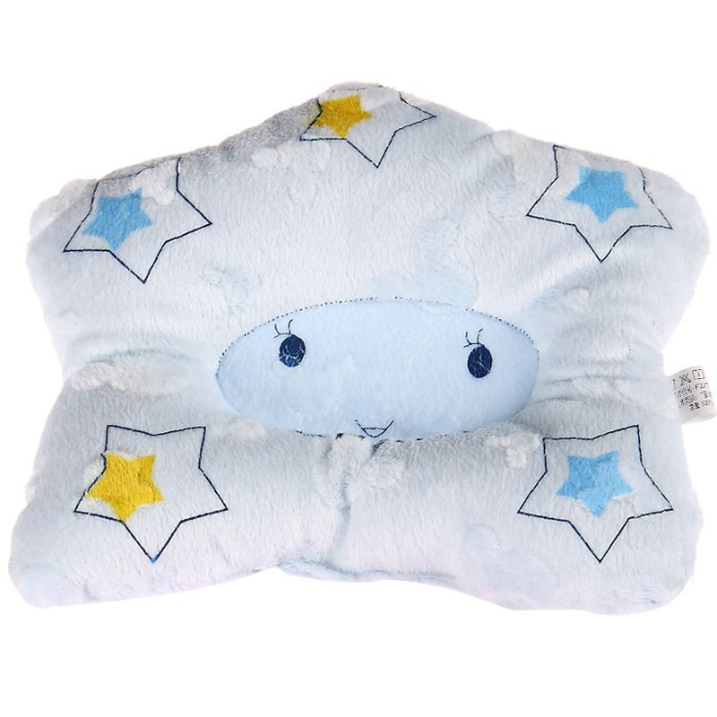 Comfortable Cotton Anti Roll Pillow Baby Toddler Safe Cartoon Sleep Head Positioner Anti-rollover Baby Pillow 1pcs/lots zt16