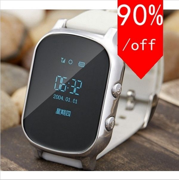 GPS Watch Touch Screen WIFI Positioning Smart Watch Children SOS Call Location Finder Device Anti Lost Reminder PK Q60 Q80 Teh