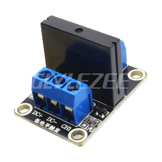 A03B 5V 1 Channe l OMRON SSR G3MB-202P High Level Solid State Relay Module Output 240V 2A With Resistive Fuse for Arduino