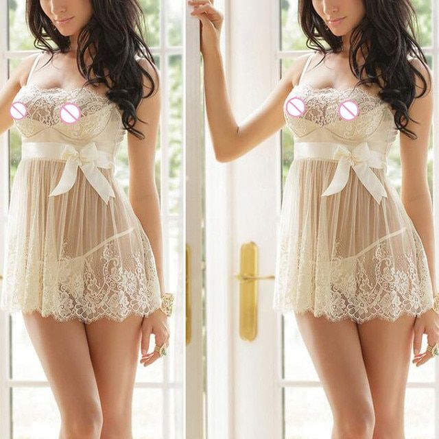 women sexy babydoll lace sexy lingerie perspective erotic costume strap babydoll dress sexy underwear sex toy lenceria sexy hot
