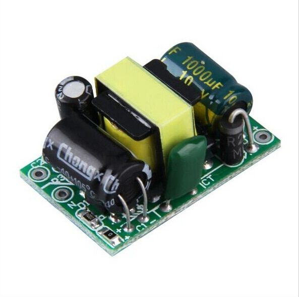 10PCS AC-DC 5V 700mA 3.5W Precision Buck Converter AC 220v to 5v DC step down Transformer power supply module for Arduino