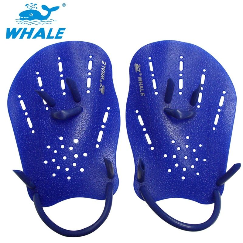 Professional Swim Paddles Training Adjustable Silicone Hand Webbed Gloves Beginner Fins Flippers For Men Women Kids Learn Gear