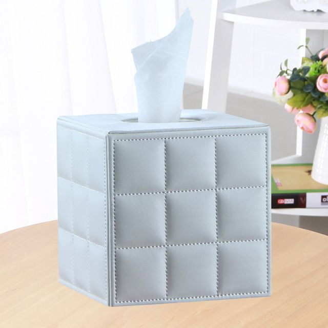 Luxury Modern Tissue Box Cover Holder Home Office Car Decorate New Box Hotel Table Napkin Holder