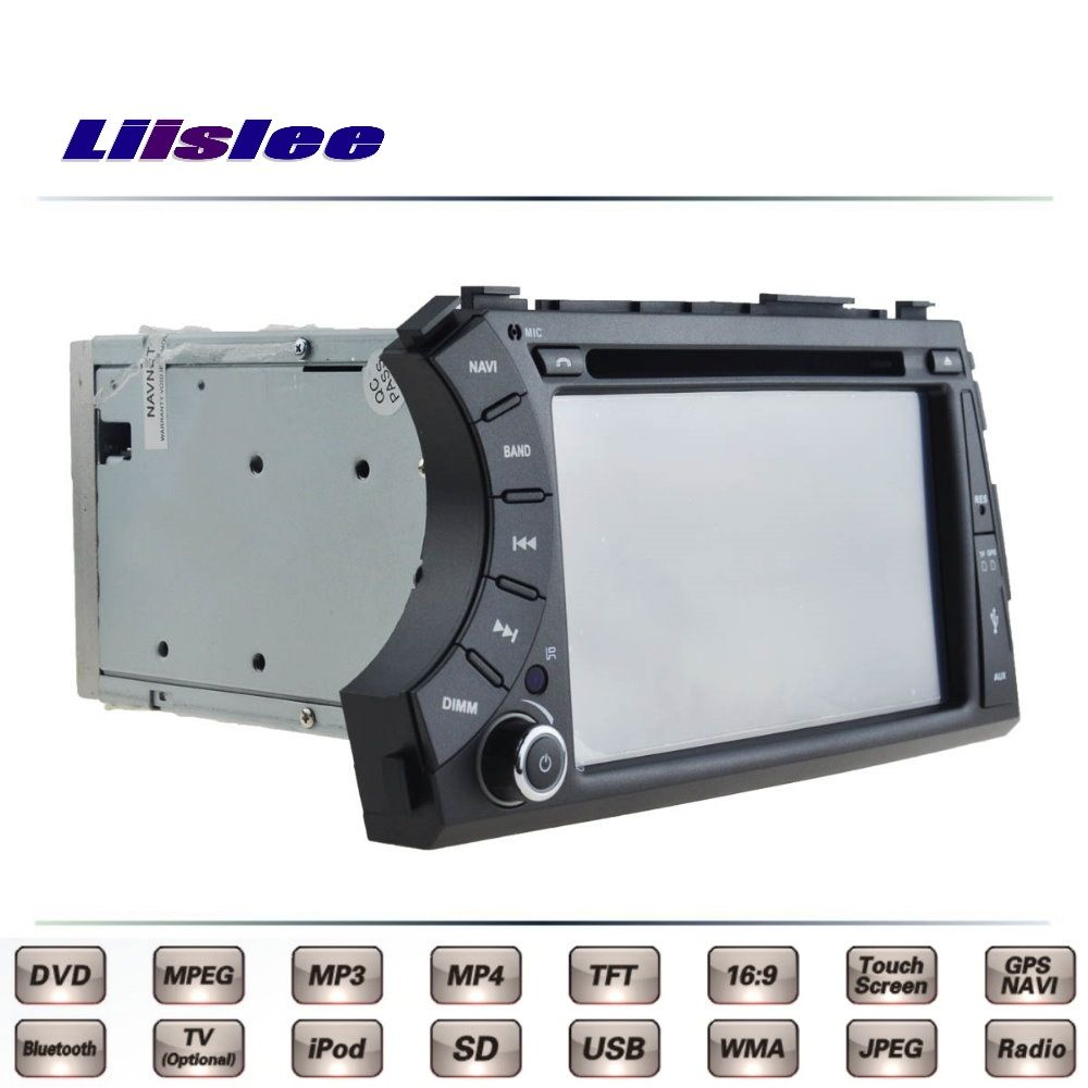 For SsangYong Kyron Car Multimedia TV DVD GPS Radio Original Style Navigation Liislee Advanced Navi