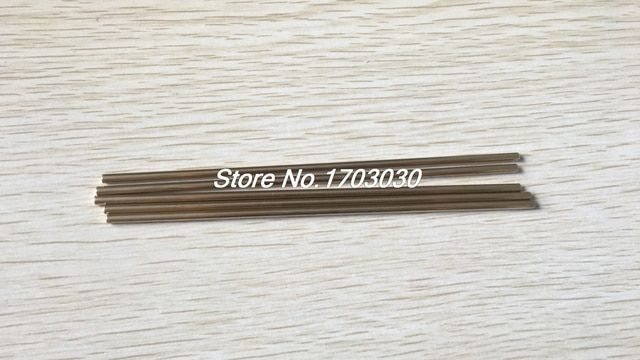 RC Helicopter Hardware 200mm x 3mm Brass Axle Round Rod Circular Bar 10Pcs