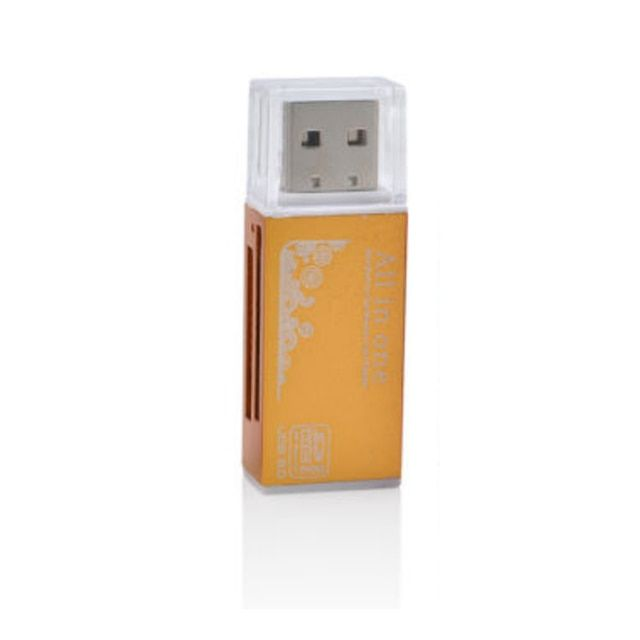 For Micro SD SDHC TF M2 MMC MS PRO Memory Stick Duo All in 1 USB 2.0 Multi Memory Card Reader