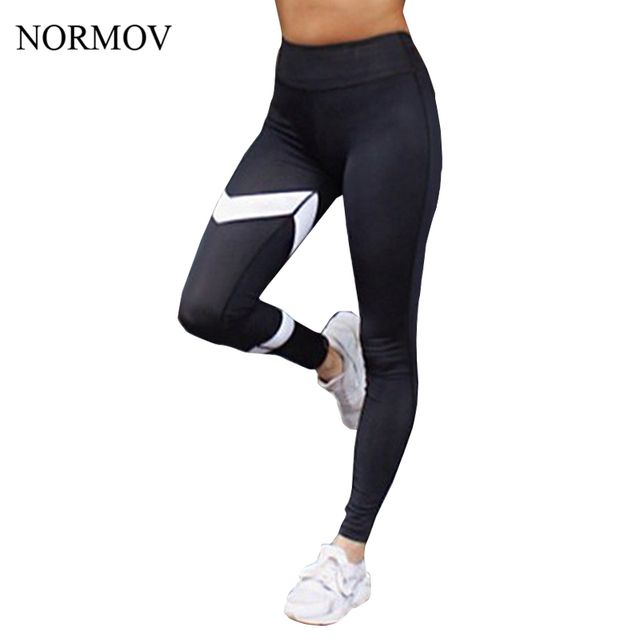 NORMOV S-XL High Waist Summer Leggings Women Adventure Time Push Up Black Legging Breathable Slim Leggings