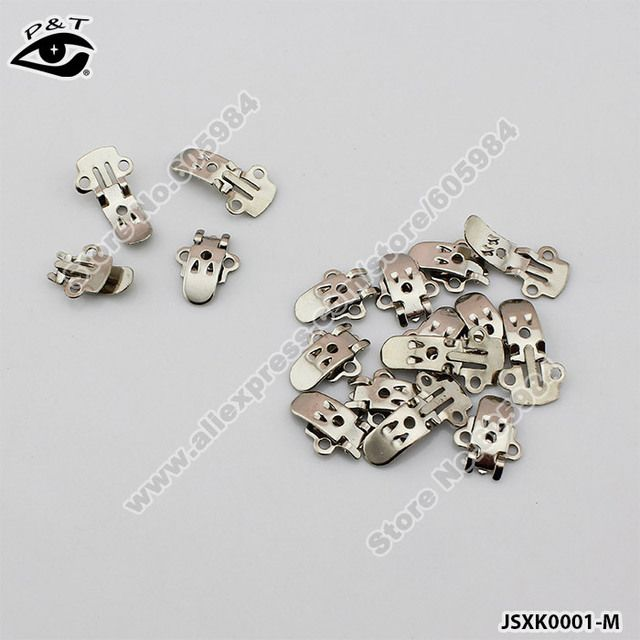 Free Shipping 500pcs/lot 26x14MM Manganese Plate Shoe Clips Decorative Shoe Metal Buckles DIY Shoes Decoration Accessories