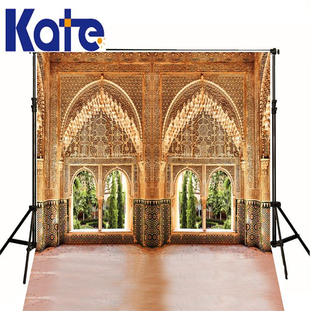 Wedding Studio Backdrops Photographic Background Horseshoe Arches The Islamic Architectural Style Luxury For Photos