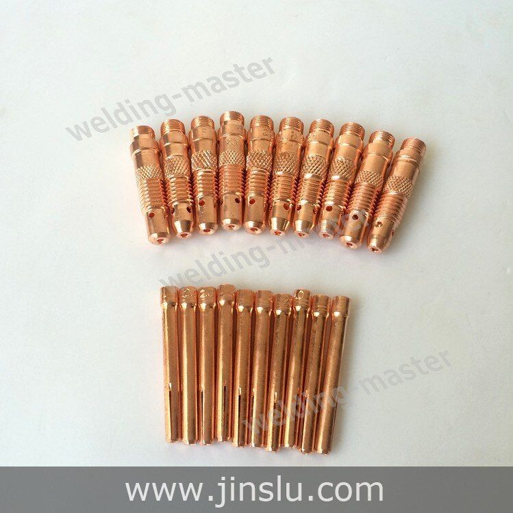 WP SR TIG Welding Torch Consumables Collet and Collet Body 1.6 mm kit  for WP-17 WP-18 WP-26 20 pcs