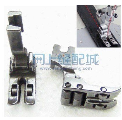 Industrial sewing machine flat car flat seam cars roller foot SPK-3 with bearing all steel presser foot leather coated fabric