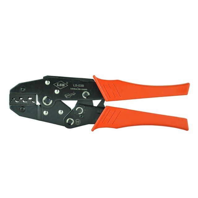 High quality Ratchet Crimping Tool LS-03B for Open Barrel Terminals 0.5-6mm2, open plug type connectors wholesale