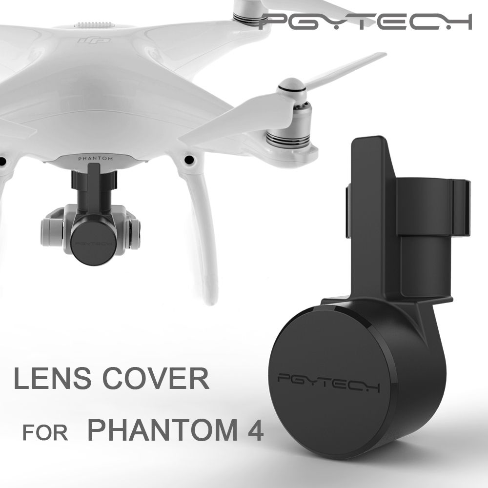 10pcs PGYTECH Lens Cover Cap Hood Protective Case Camera protective Guard DJI phantom 4 pro and gimbal Accessories drone parts