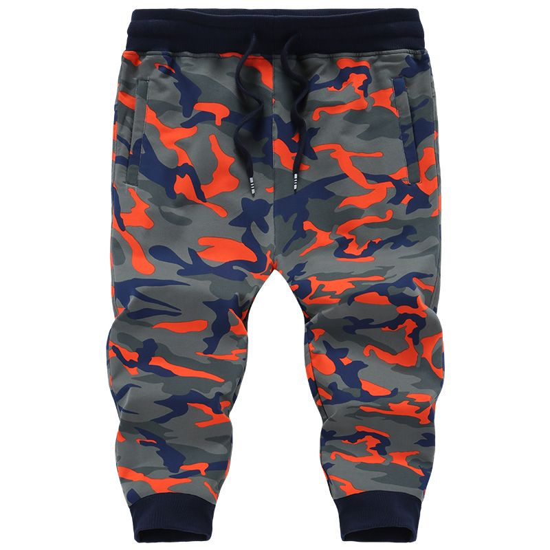 Big Size 6XL 7XL 8XL HOT Mens Shorts Summer Style Cotton Camouflage Short Pants Knee-Length Fashion Elastic Beach Shorts PYSB812