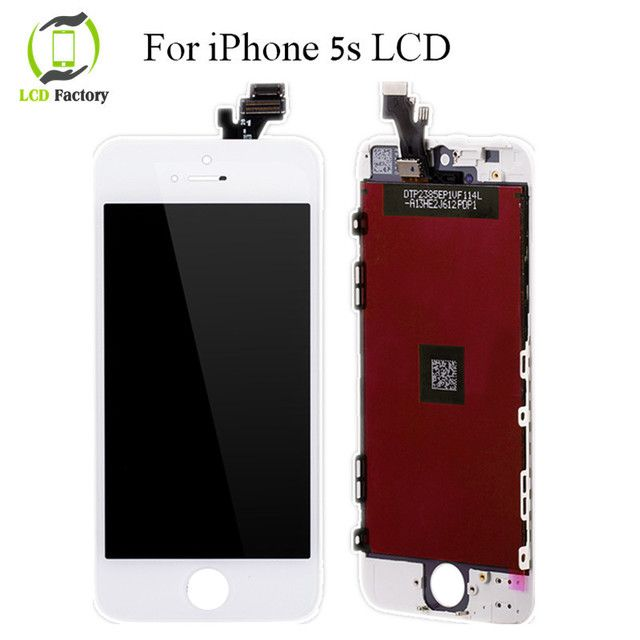 100% NO Dead Pixel Quality AAA For Apple iPhone 5S LCD Display&Touch Screen Digitizer Assembly Replacement Free Shipping