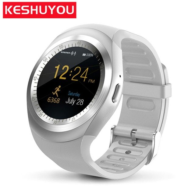 KESHUYOU T11 reloj Intelligent Smart watch fashion  clock sim tracker  kids bluetooth pedometer  Smartwatch for iphone Samsung