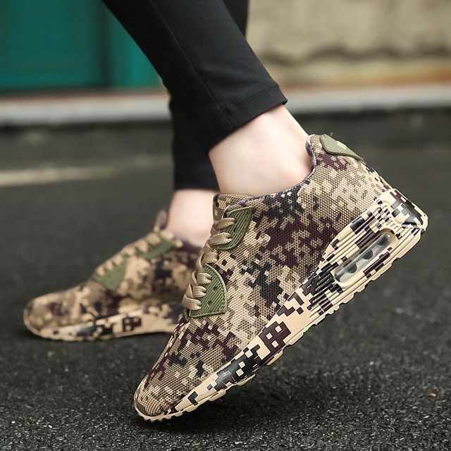 Running Sport Shoes Zapatillas Hombre Deportiva Hot Quality Autumn athletic Unisex Camouflage Outdoor Sneakers For Adult man