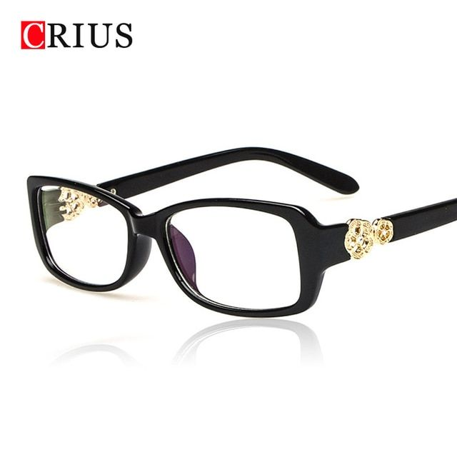 D new women's optical eye glasses frame for women flower Square Brand design high quality eyeglasses Radiation lens UV400