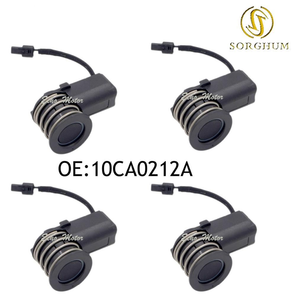 New 4PCS Original Parking Sensor 10CA0212A Ultrasonic/PDC Sensor For Toyota Yaris Mazda