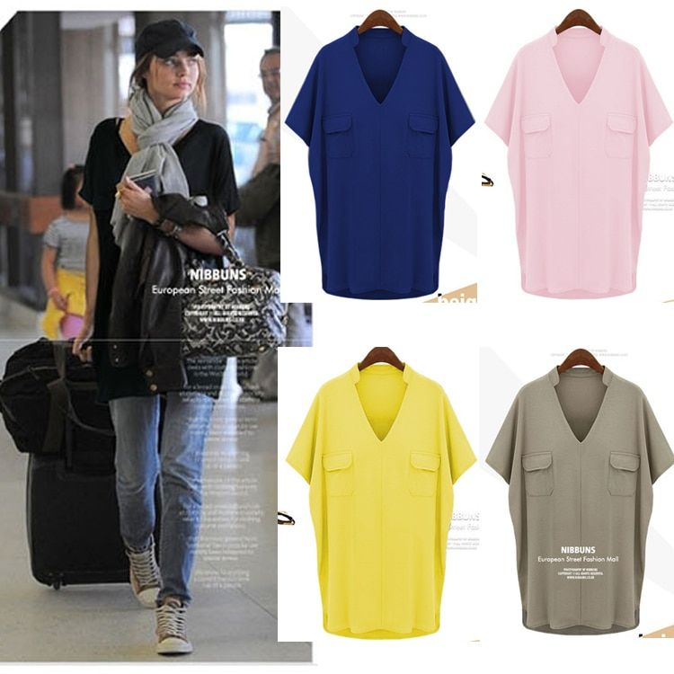plus big size 6xl tops blusas feminina spring summer style 2017 new korean fashion women pink blue casual shirts female A0664