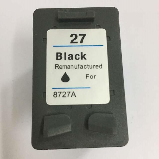 1Pk Black Ink Cartridge For HP 27 for hp27 for hp Deskjet 3320 3322 3323 3325 3420 3535 3550 3650 3744 3745 3845 Printer