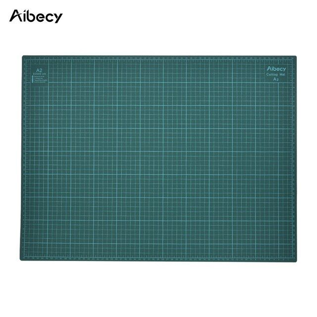 "PVC A2 Cutting Mat 18""x24"" Multipurpose Self Healing Cutting Mats for Quilting Double-Sided 5-Ply Durable Paper Mat for Cutting"