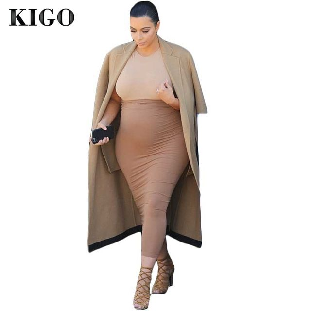KIGO 2 Piece Bandage Dress Kim Kardashian Dress Vestido Feminino Long Sleeve Fashion Women Winter Dress Bodycon Vestidos Casual