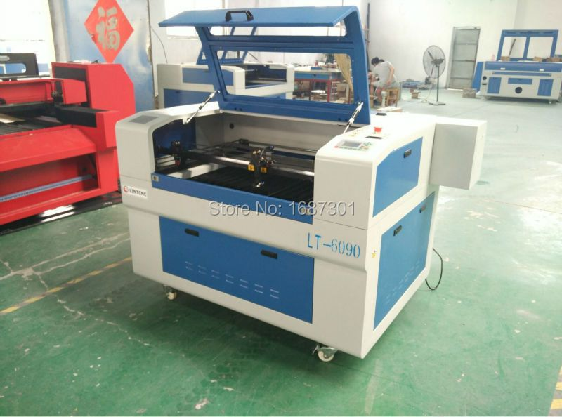 Low cost plastic laser cutting machine / laser engraving machine / plywood laser cutting machine
