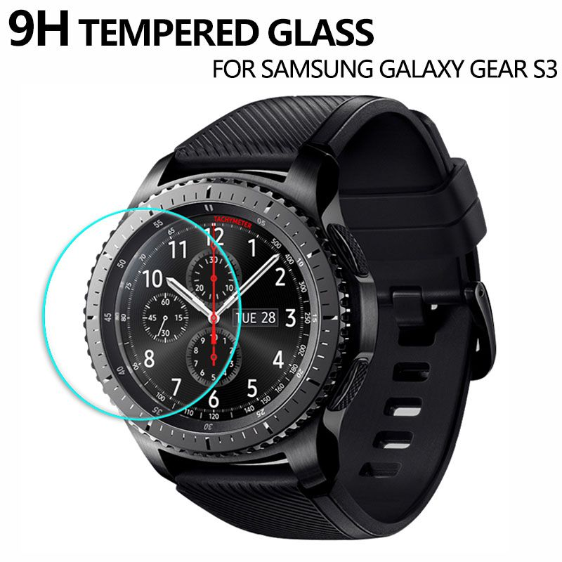 Tempered Glass Screen Protector for Samsung Gear S3 Classic 9H 2.5D Smart Protective Glass Film for Galaxy Gear S 3 Frontier