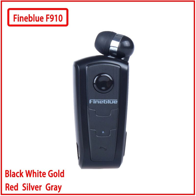 Fineblue F910 Mini portable Wireless Bluetooth Earphone Headset In-Ear Vibrating Alert Wear Clip Hands Free For Phone