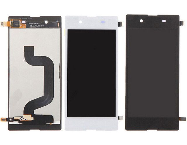 Dhl 10pcs New Wholesale Mobile Phone Parts For Sony Xperia E3 Lcd Display Touch Screen Digitizer  Black