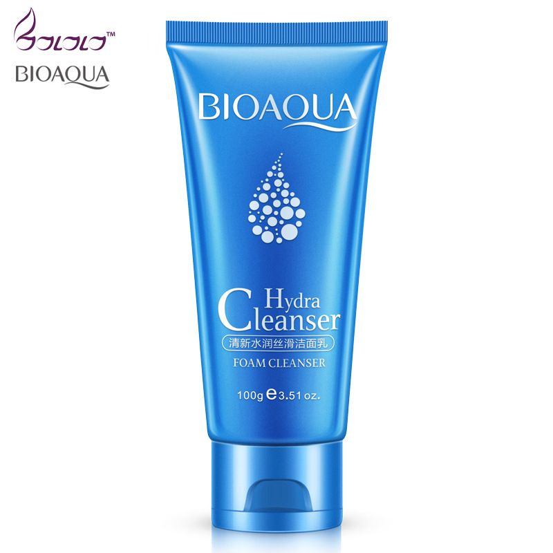 BIOAQUA Hydra Cleanser Foam Cleanser Cleaning face washing products Face Skin Care Moisturizing Oil Control Skin Facial Cleanser