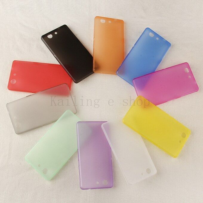 For Sony Xperia Z3 compact case cover, 0.3mm UltraThin Matte  Back case For Sony Xperia Z3 compact Z3 mini M55W cell phone cases