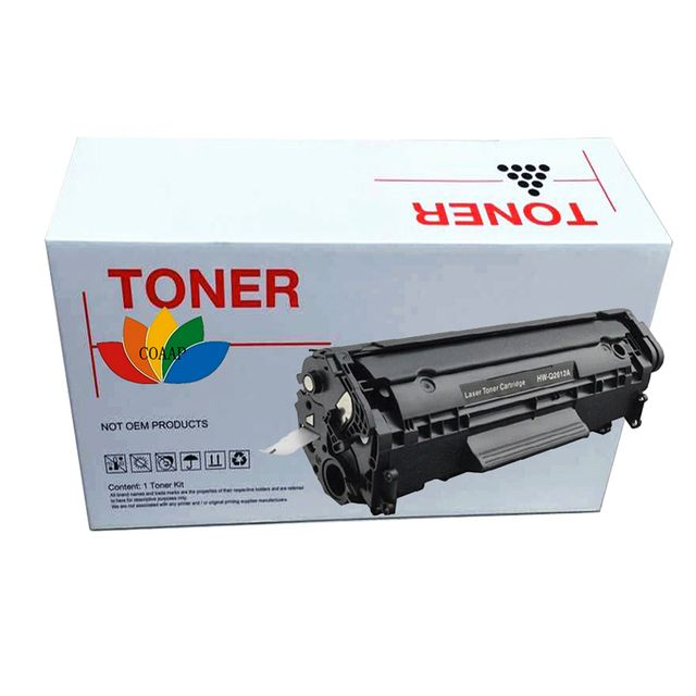 1x Compatible HP Q2612A 12A toner cartridge for HP Laserjet 1010/1012/1015/1022n/3010/3020/3052