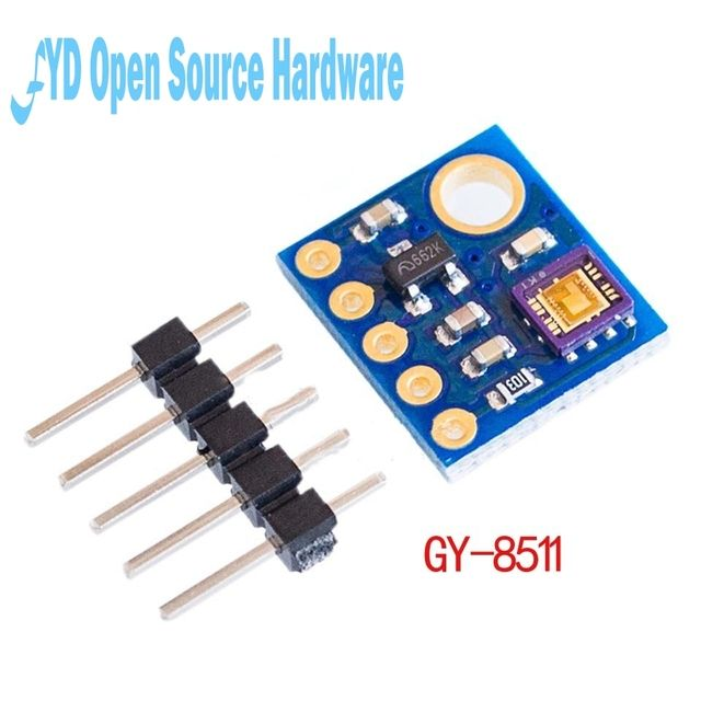 1pcs GY-8511 ML8511 UVB UV Rays Sensor Breakout Test Module Detector Analog Output with pin