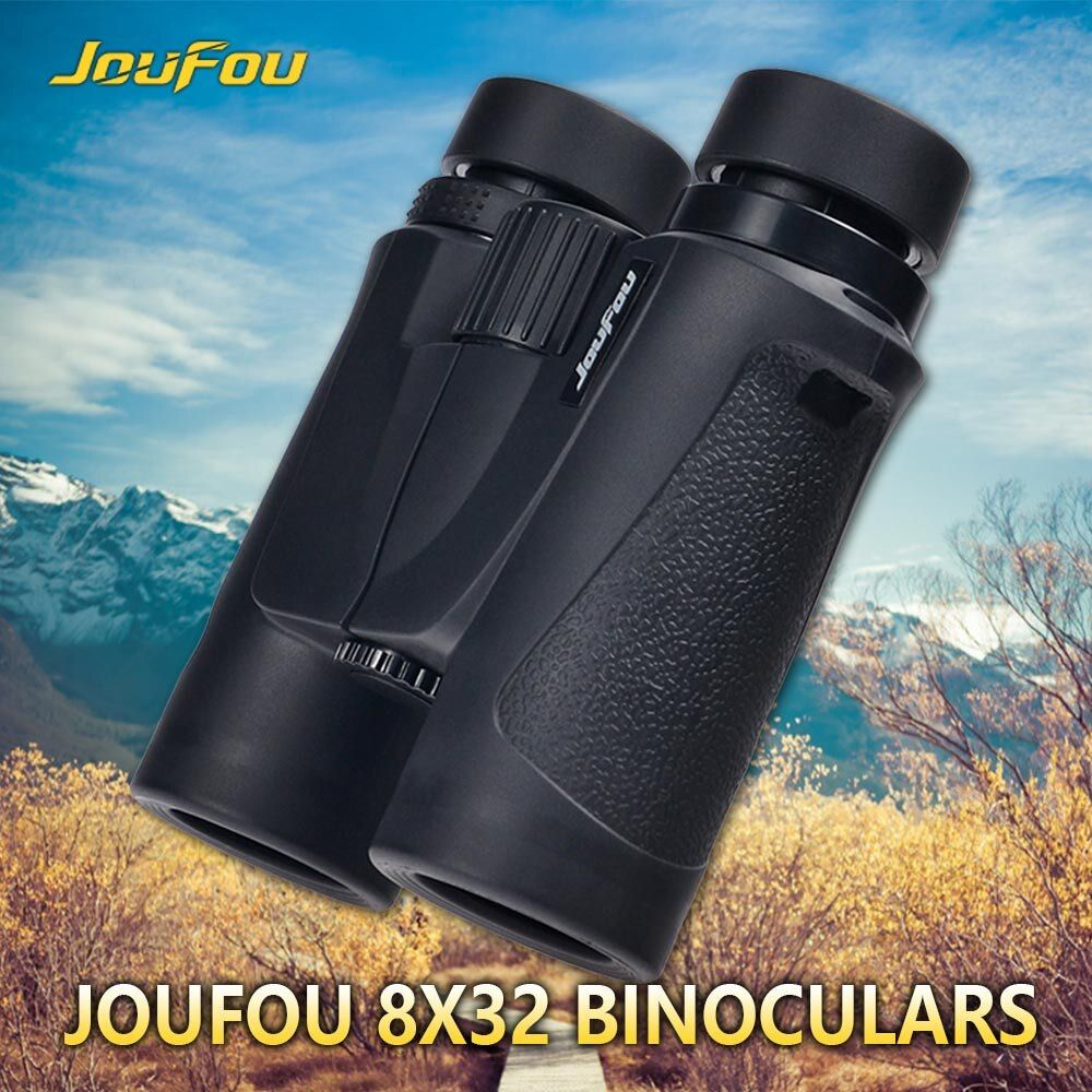 JouFou 8X32 Vision King Spotting Scope HD High Power Adjustable Zoom Waterproof Fogproof  Binoculars for Hunting