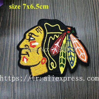 NHL Chicago Blackhawks Logo Patch National Hockey league team Helmet patches