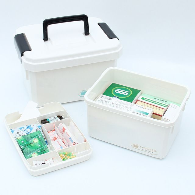 Multi Layer family Medical Kit Emergency Care Medicine Box Portable Medical storage box