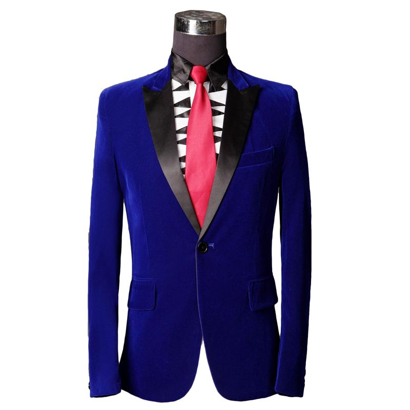 Brand Royal Blue Tuxedo Men Suit Costume Homme 2015 Fashion Design Mens Slim Suits With Pants Groom Prom Wedding Suits For Men